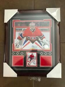 Montreal Canadiens Carey Price Framed Glass Print (New) Calgary Alberta Preview