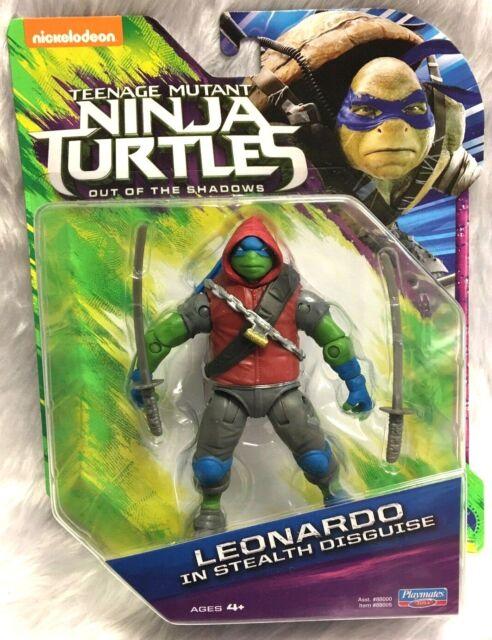 Teenage Mutant Ninja Turtles TMNT Leonardo In Stealth Disguise Shadows 88005