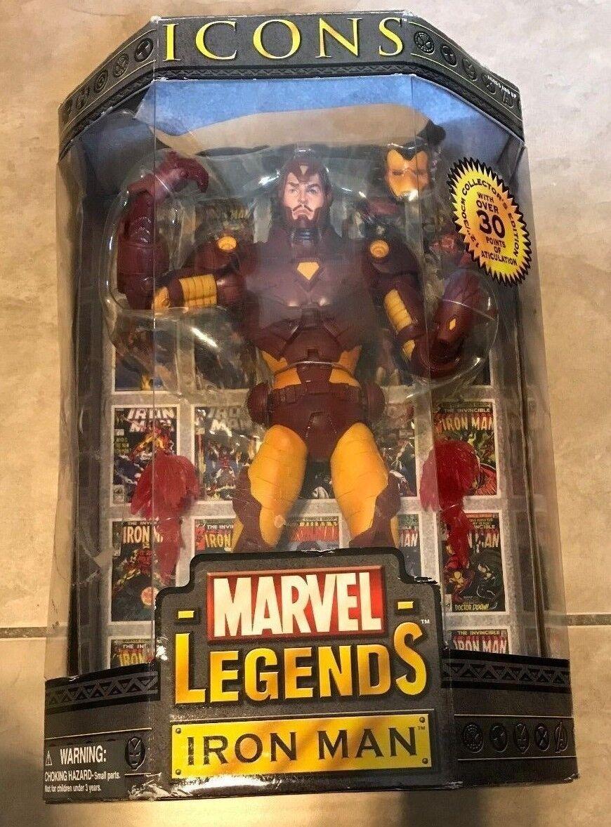 Marvel Legends Icons 12  Iron Man Figure NEW factory sealed