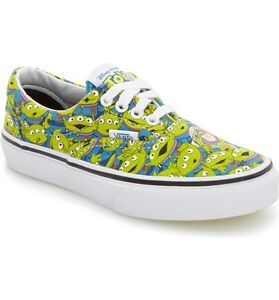 Details about NEW Vans Era Toy Story 4 Aliens Skate Shoe Glow In Dark Pizza Planet Mens 9.5 11