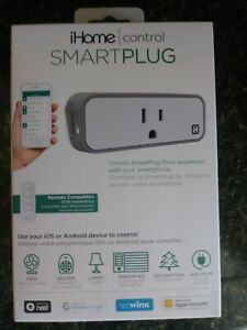 Pleasant Details About Ihome Isp6X Wi Fi Smart Plug Use Your Voice To Control Connected Devices New Download Free Architecture Designs Rallybritishbridgeorg