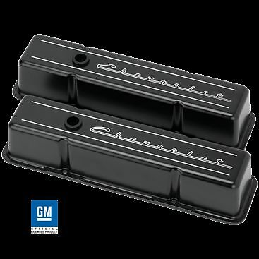 Billet Aluminum small Block Chevy tall Valve Cover 350 327 400 Chevrolet BLACK