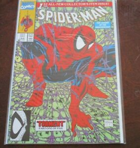 Details about Spider- Man # Issue 1 green Collectors item Marvel Comics  Torment part 1 of 5