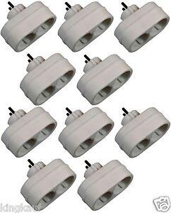 Steckdosenleiste-fuer-LED-Lichterkette-10x-2fach-Steckdosenverteiler-Schuko-Z