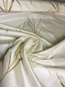 BEAUTIFUL-CREAM-EMBROIDERY-CURTAIN-UPHOLSTERY-FABRIC-3-2-METRES-2-8-0-4