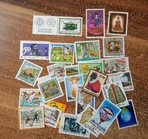 Autriche-Autriche-Vintage-Yearset-2001-Timbres-Used-Complet-Complet