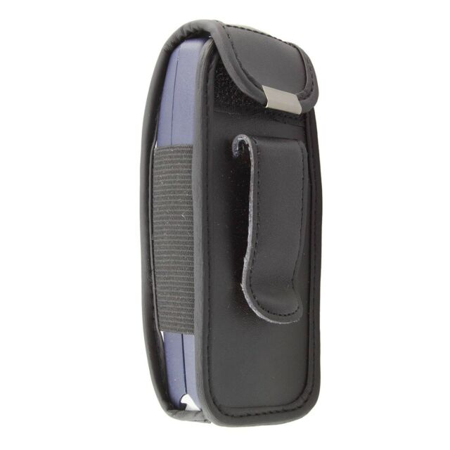 caseroxx Leather-Case with belt clip for Nokia 3310 / 3330 in black made of real