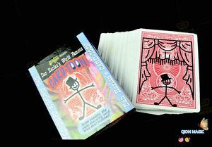 Card-toon Deck Playing Card Magic Tricks Prediction Card Magia Magician Close Up Illusions Gimmick Props Animated Cartoon Deck Toys & Hobbies
