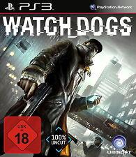Sony PS3 Watch Dogs Hacker Online Open World Internet Watch_dogs Watchdogs OVP