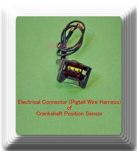 Details about Electrical Connector of Crankshaft Position Sensor PC485  Fits: GM Isuzu Suzuki