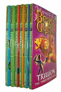 Beast-Quest-Series-2-Golden-Armour-6-Books-Adam-Blade-Boys-Adventure-Fun-New