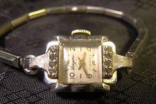 Pretty Ladies Girard Perregaux 17 Jewel Watch Parts Repair