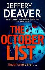 The October List by Jeffery Deaver, Book, New  (Paperback)