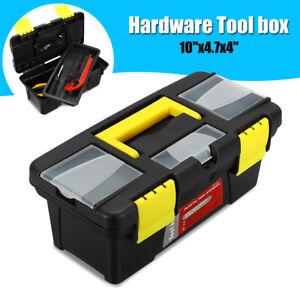Petit-Portable-Plastique-Materiel-Boite-a-outils-pour-la-Maison-Vis-Cle-Marteau-de-conservation