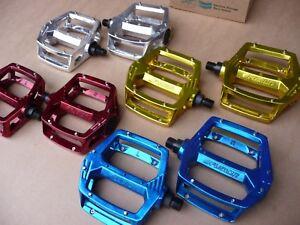 PEDALS-Haro-Fusion-BMX-Retro-Old-school-1-2-034-or-9-16-034-BMX-MTB-like-Shimano-DX