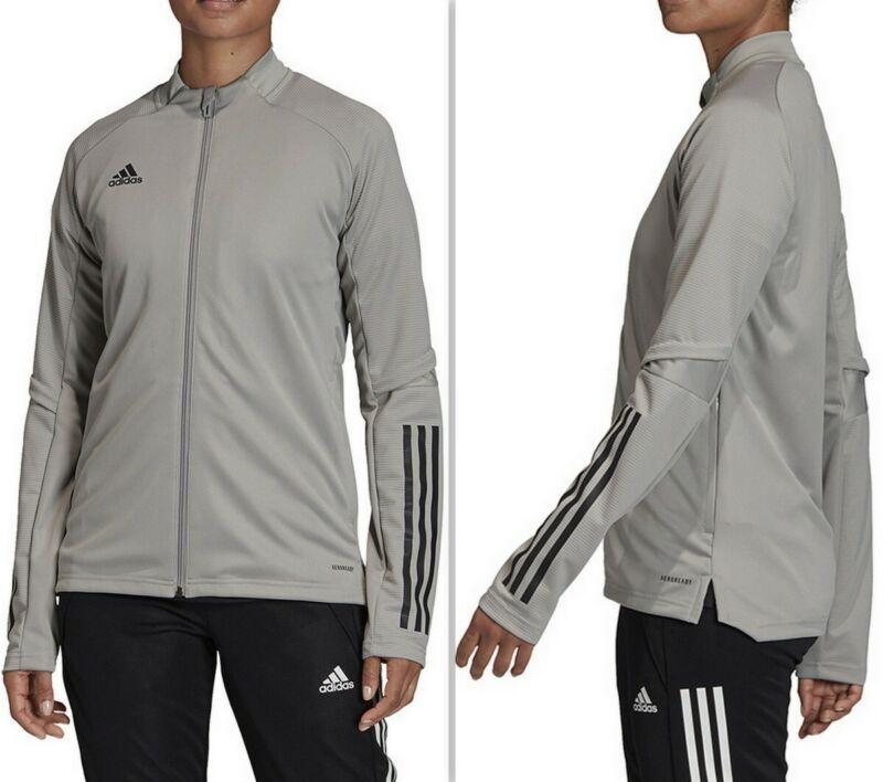 Adidas Condivo 20 Women's Training Jacket Fs7103, Team Mid Grey Size M, L, Xl