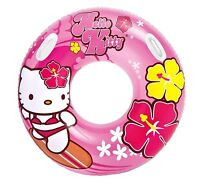 Intex Hello Kitty Inflatable Kids Floating Tube Pool Raft - Pink | 58269ep on sale