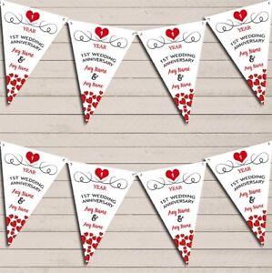 Hearts-Flag-Banner-Garland-1st-Any-Year-Wedding-Anniversary-Bunting-Garland