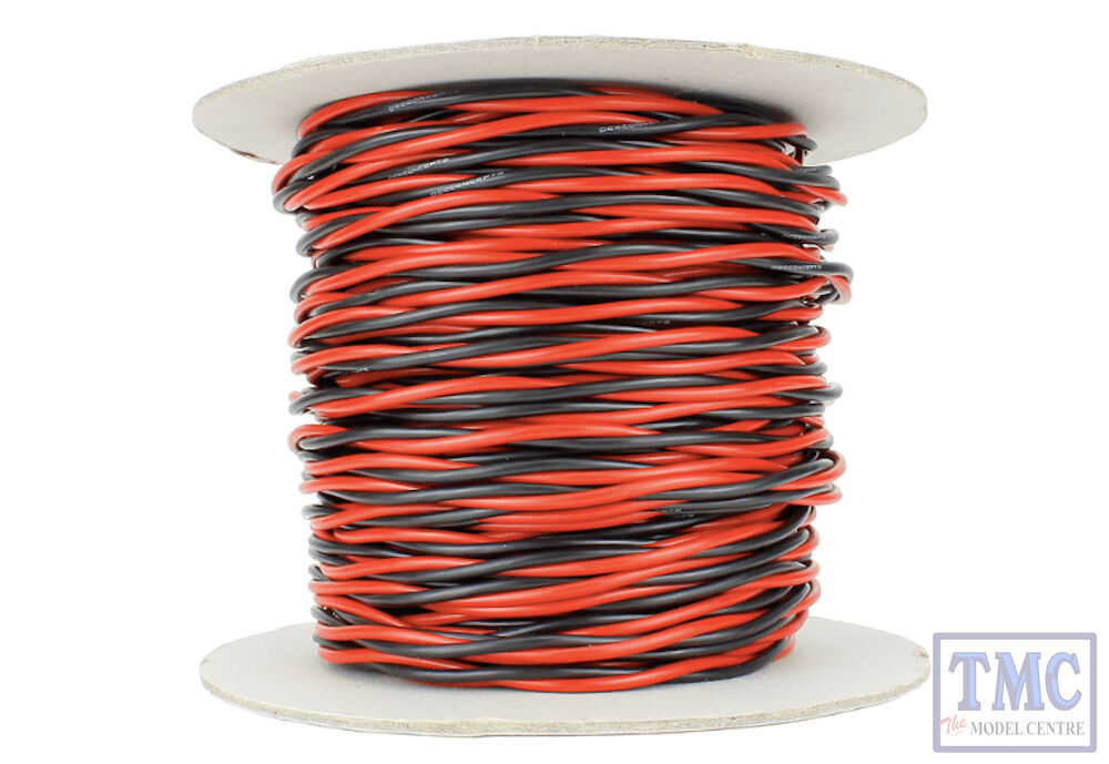 DCW-TW50-2.5 DCC Concepts 50m of 2.5mm (13g) Twin Twisted Power Bus Wire