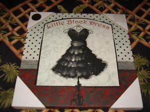 Black dress 12 x 12
