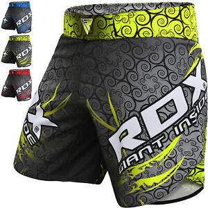 RDX-MMA-Pantaloncini-Lotta-Cage-Combattimento-Palestra-Allenamento-BAULI-MUAY-THAI-KICK-BOXING