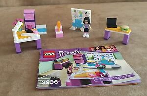 3936 Lego Emma S Fashion Design Studio Complete Instruction Book Minifig Friends Ebay