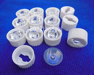 60-90-120-led-Lens-for-1W-3W-5W-Hight-Power-LED-with-20mm-black-White-holder