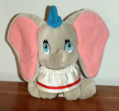 """Vintage Disneyland Disney World Dumbo Elephant Plush Toy 9"""" Parks"""