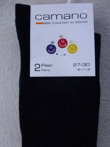 Camano CALZETTONI per bambini 2er sparpack UNI 80/% COTONE MIS 23-42 Calze