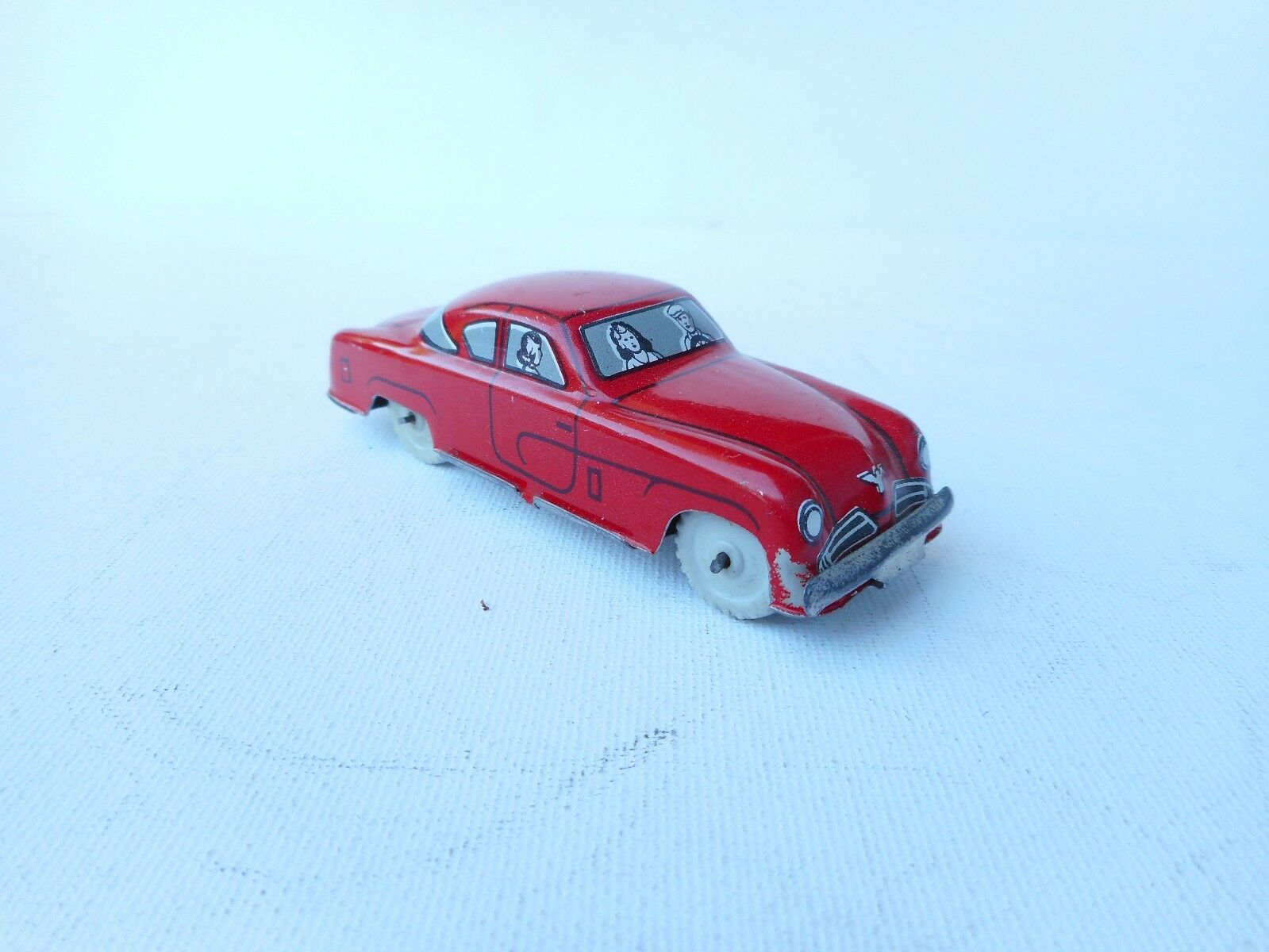 1960's Tin Toy MARCHESINI BOLOGNA TIN TOY VAN PENNY TOY Limo Rare