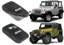 Seat Armour Center Console Cover For 2001-2006 Jeep Wrangler TJ New Free Ship