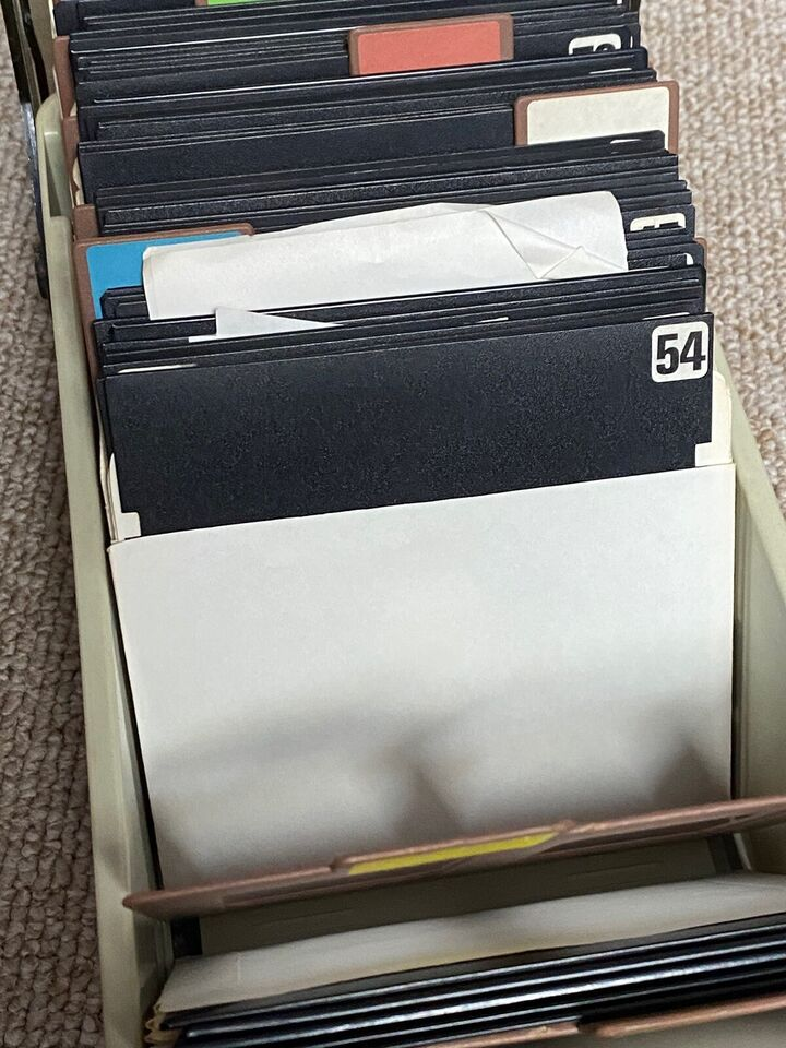 Diskettebox med 75 stk disketter, Commodore 64/128