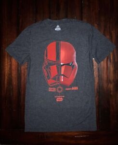 Star Wars The Rise Of Skywalker First Order Sith Trooper Adult T Shirt Small Ebay