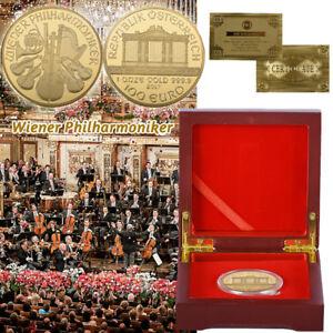 WR-Wiener-Musikorchester-Gedenkmuenze-mit-Holzkisten-Sammlungs-Geschenken