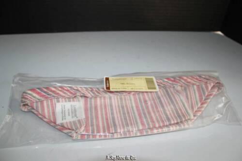 Longaberger Medium Berry Liner in Market Stripe NEW