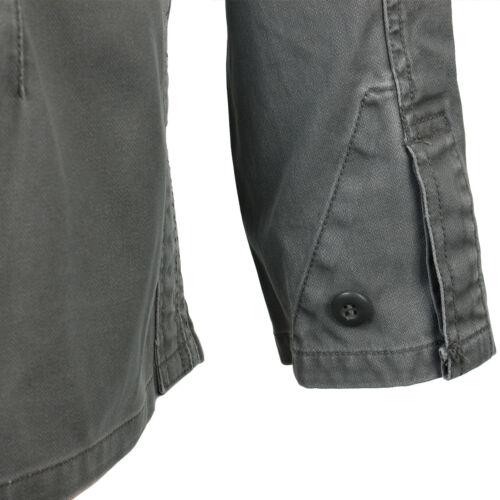 GERMAN Vecchio Stile Pelle di Talpa FIELD JACKET-OLIVE 100/% cotone Esercito militare NUOVO