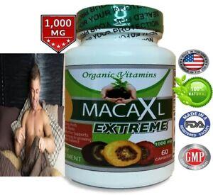 MACA ROOT 1000 MG capsules ( lepidum mayenil ) 1000 mg 60 count organic vitamins