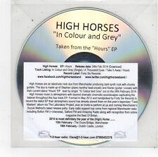 (FU53) High Horses, In Colour & Grey - 2014 DJ CD