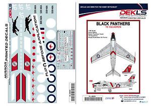 1-48-Avon-Sabre-RAAF-039-Black-Panthers-039-Aerobatic-Teams-Decal