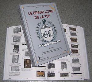 Libro-LE-GRAND-LIVRE-DE-LA-TSF-old-radio-transistor-a-valvole-d-039-epoca-autoradio