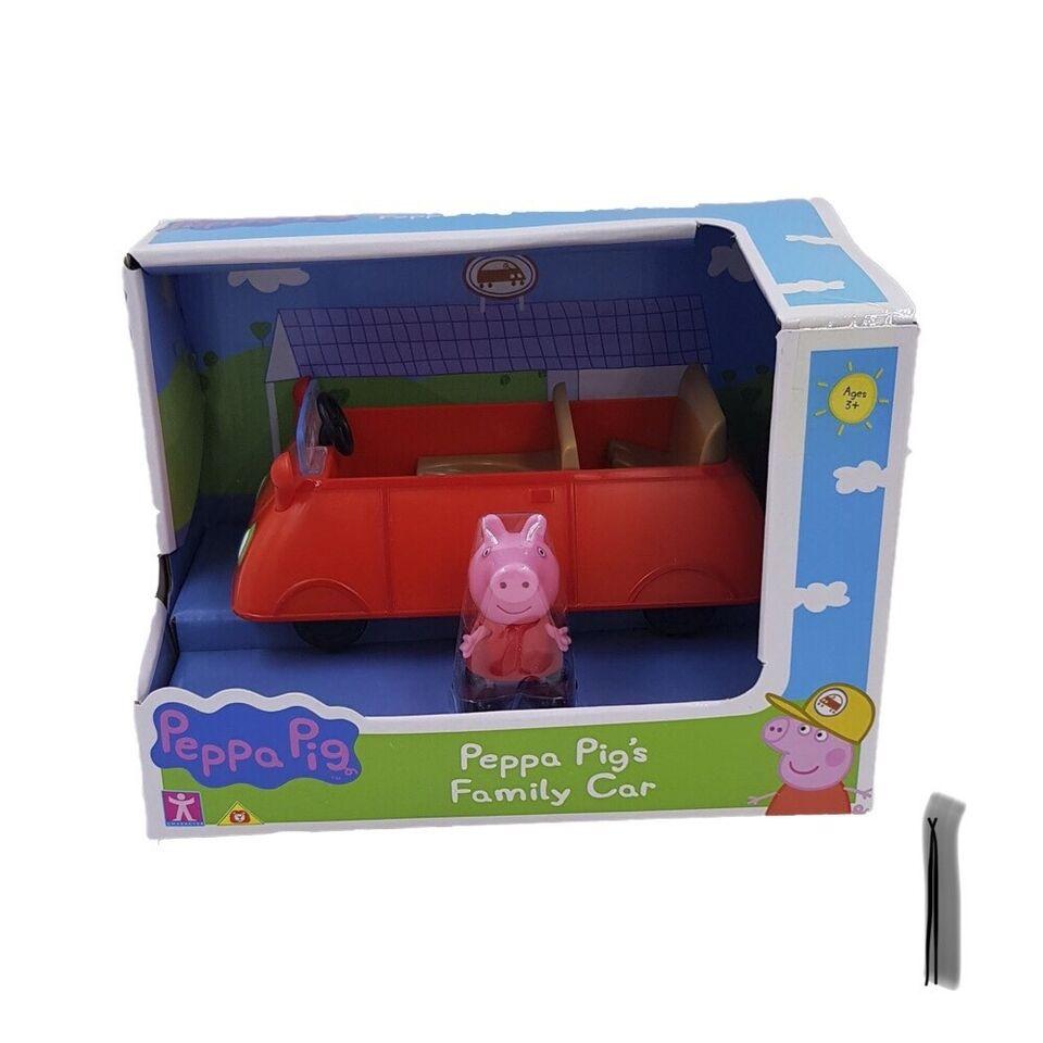 Andet legetøj, Gurli gris biler/helikopter/figursæt,