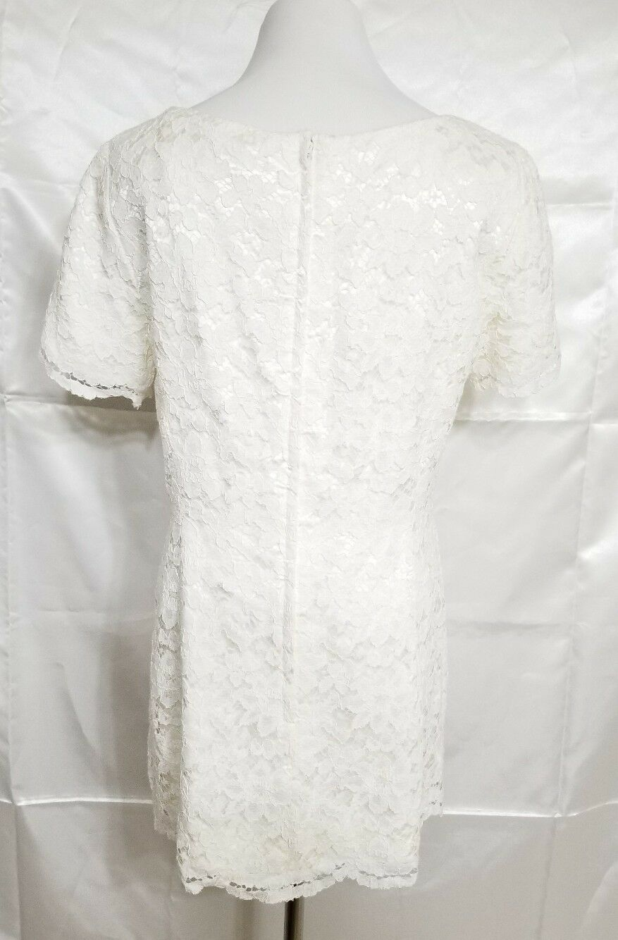 Vintage Marie St. Claire 8 Lace Ivory off white S… - image 3