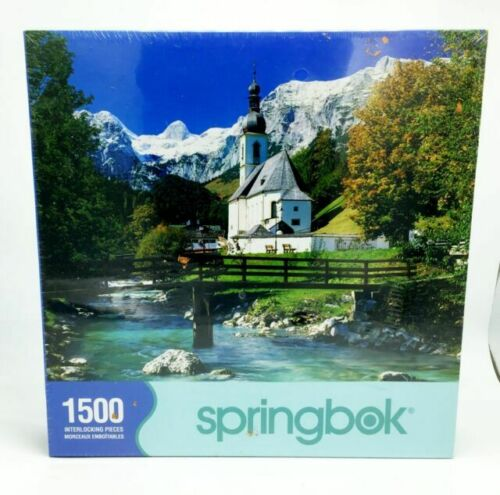 Peaceful Passage Springbok Puzzle SEALED