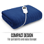 thumbnail 10 - Electric Heated Throw Blanket Indoor Outdoor Winter Plush Washable Rug 200x180cm