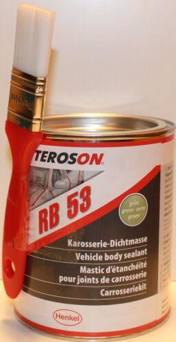 TEROSON-RB53-Karosserie-Dichtmasse-Karosseriekleber-1-4L-streichbar-Pinsel