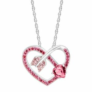 Crystaluxe-Arrow-Heart-Pendant-with-Pink-Swarovski-Crystals-in-Sterling-Silver