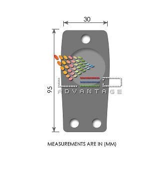 12V BOAT 60CM PLUG-IN REMOVABLE LED ANCHOR NAVIGATION LIGHT /& STORAGE CLIPS