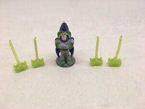 RARE Toy Story 3 Buzz Lightyear Disney Pixar Birthday Party Flat Cake Candle