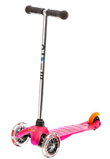 New Micro Mini Kick Scooter Toddler Smooth Quiet Ride w/ Non Marking Wheels Pink