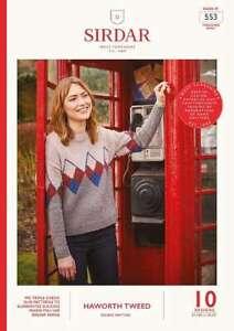 Sirdar Haworth Tweed DK Book  553     10 designs for women OUR PRICE: £7.50